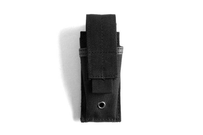 Single Mag Pouch, Black, Front