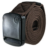 "1.5"" Betta Belt - Wide Brown Eastic Belt - Rolled"