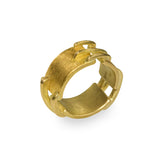 Gold Stitch Ring