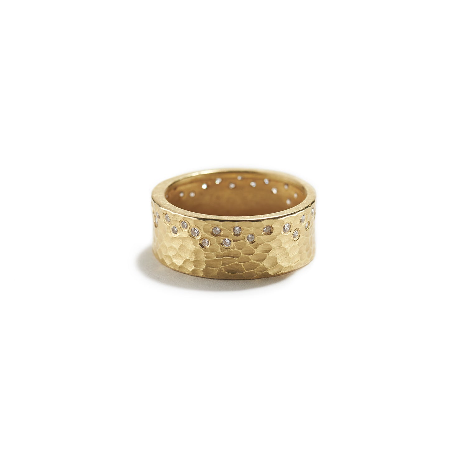 Gold Glacier Ring