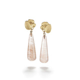 Triple Shell Rutilated Quartz Drops