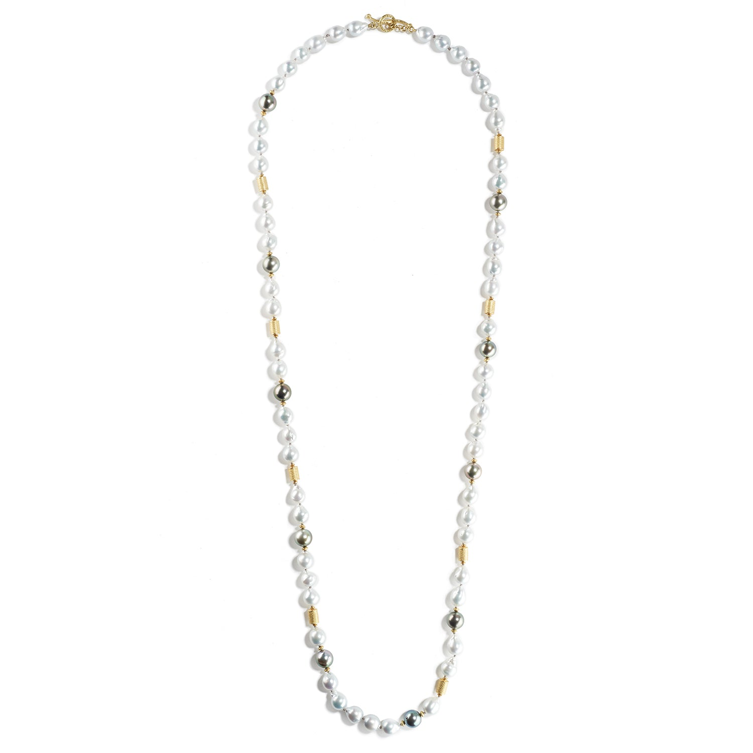 Tahitian & Akoya Pearl Necklace