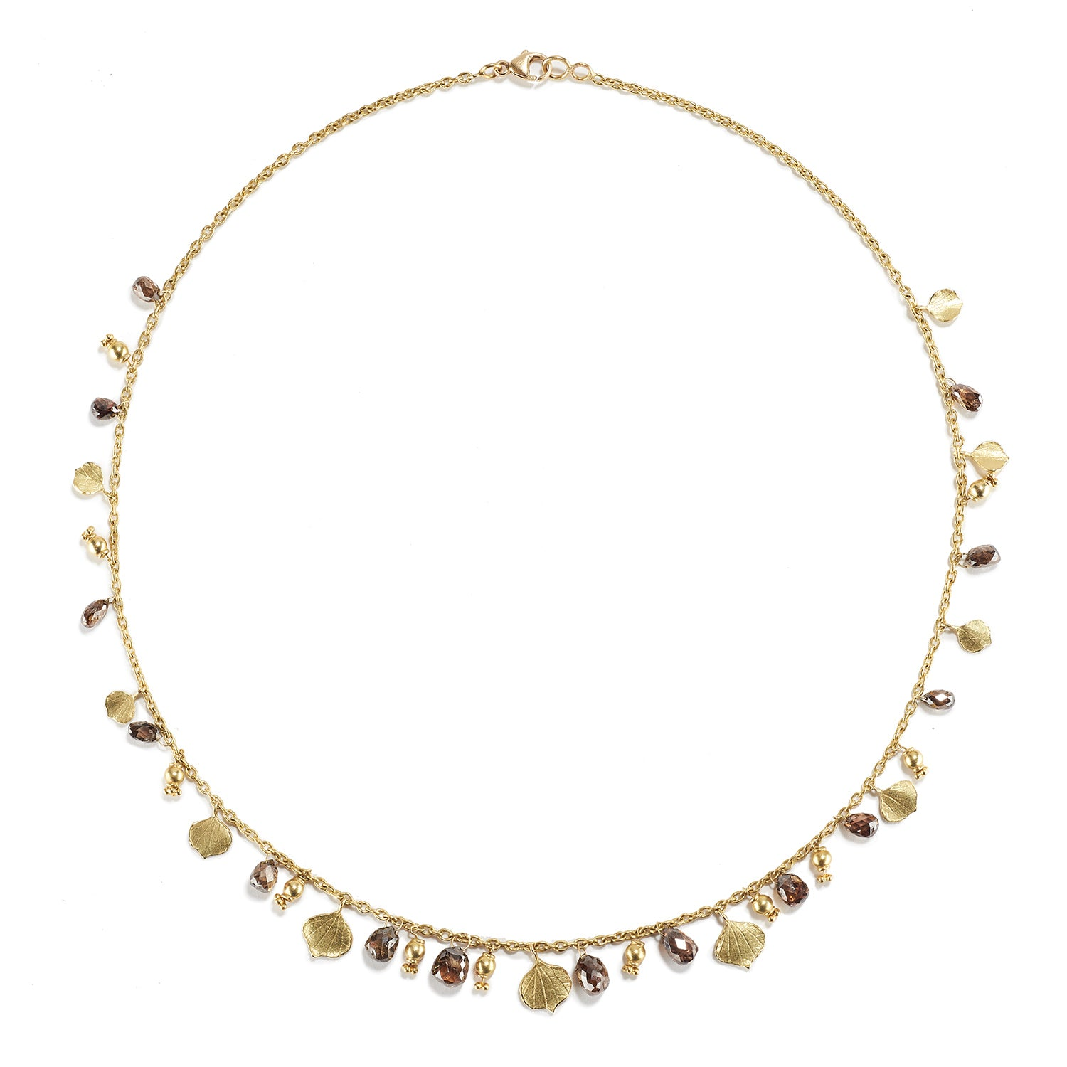 Aspen Leaf Drop Necklace