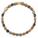 Swiss Granite Necklace with Gold