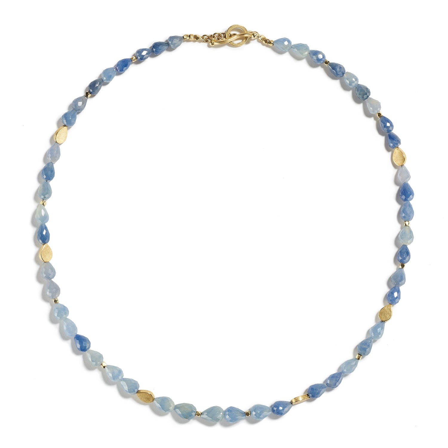 Light Blue Sapphire Necklace