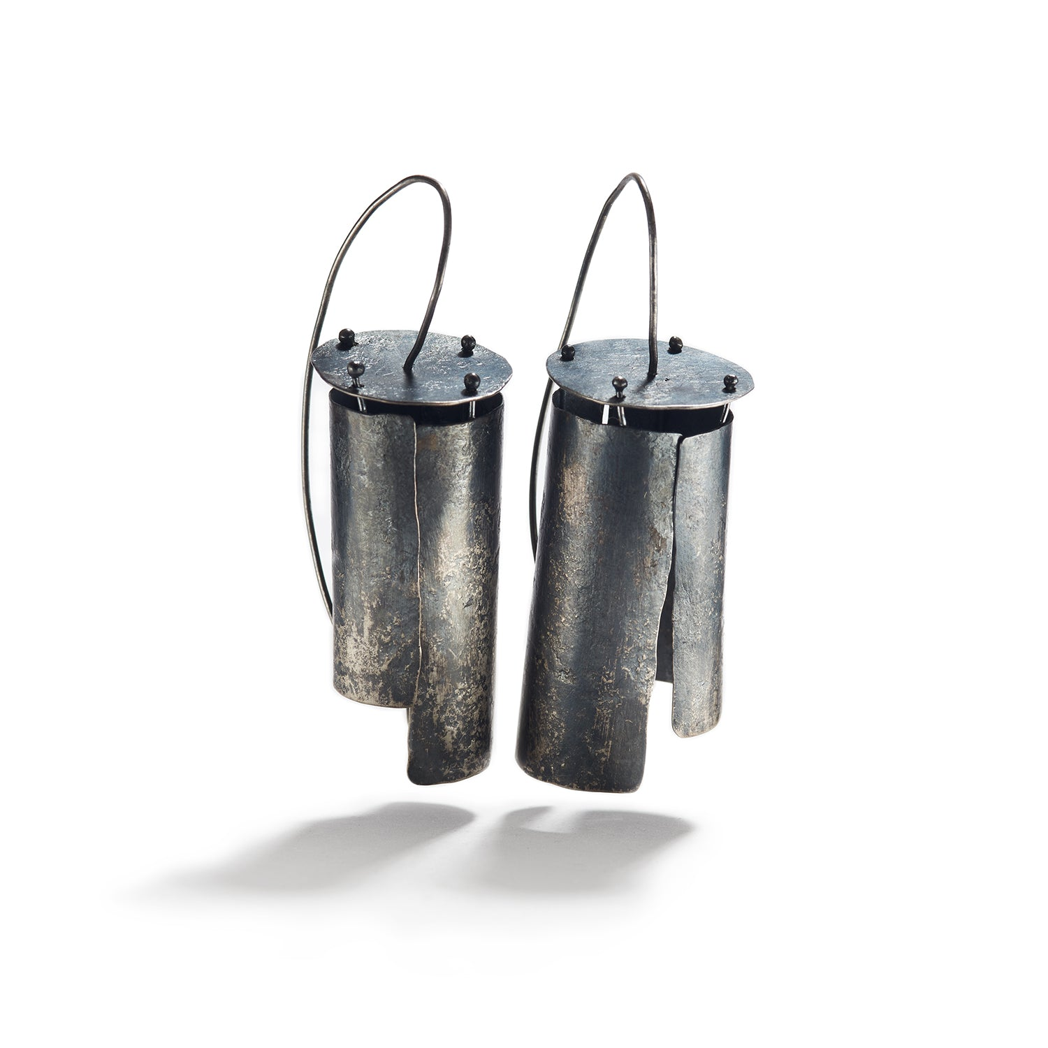 Sterling Silver Lantern Earrings