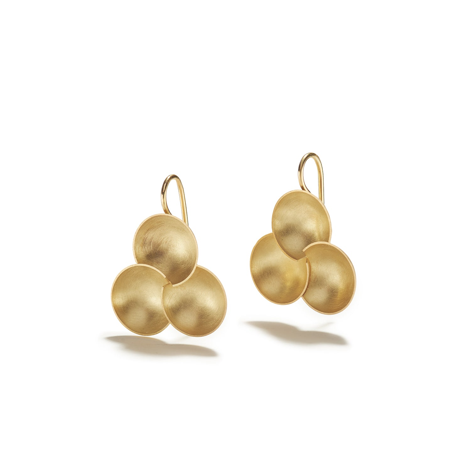 Golden Bowl Earrings