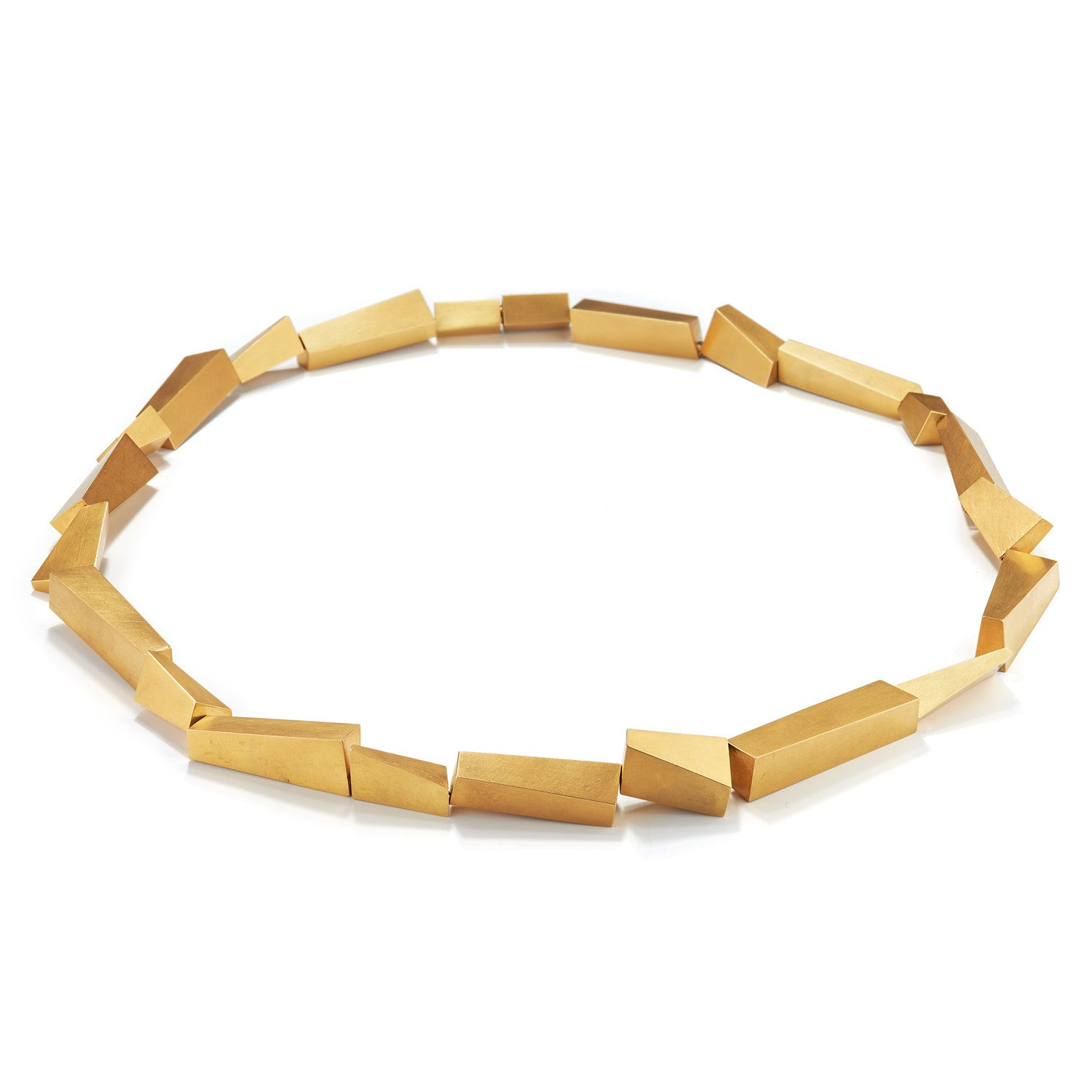 Long Constructed Necklace