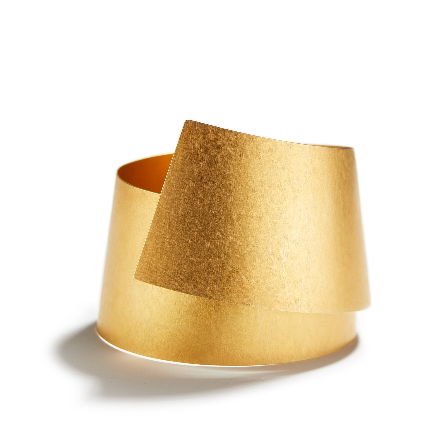 Wide Golden Cuff