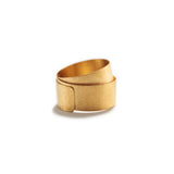 Wrapped Gold Ring~7mm