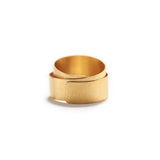Wrapped Gold Ring~8mm
