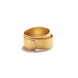 Wrapped Gold Ring~9mm
