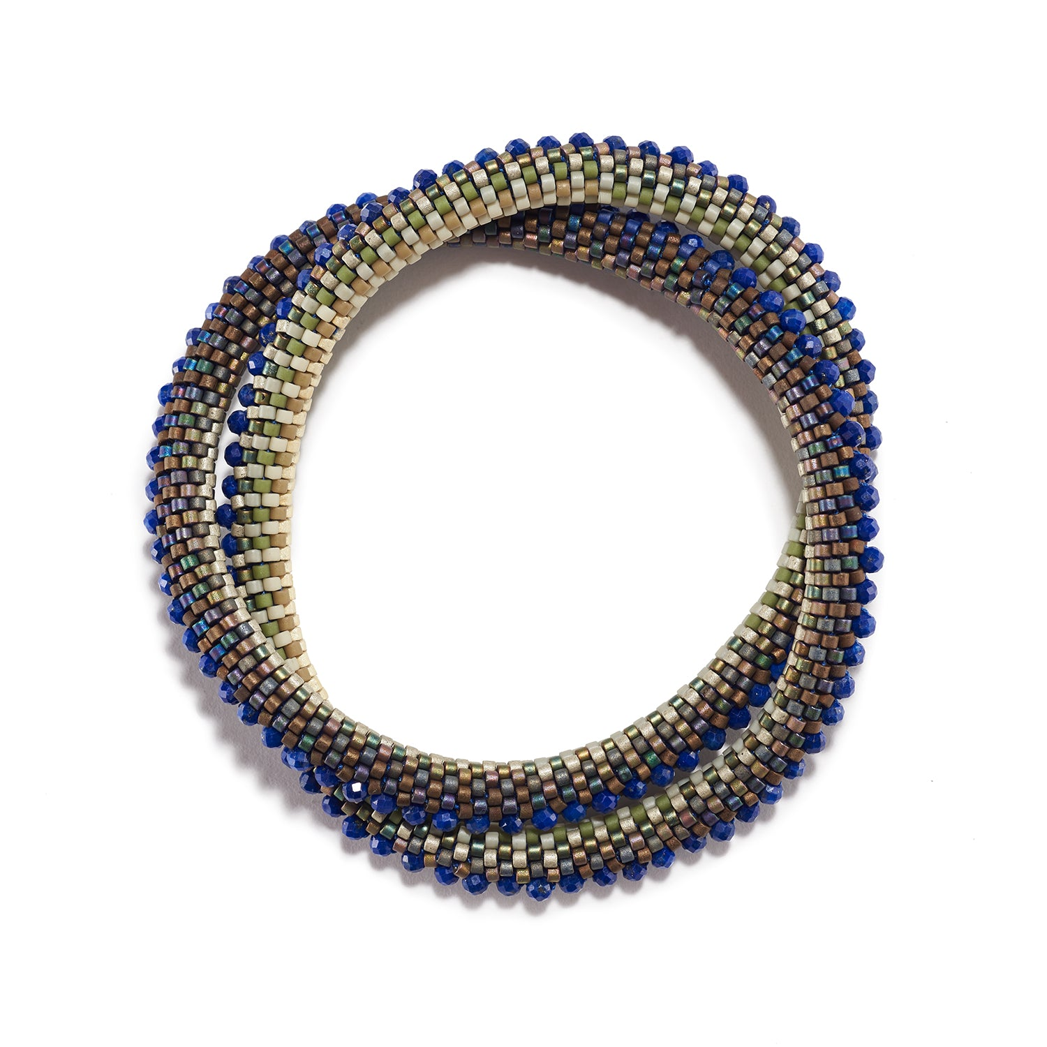 Lapis Series Double Bracelet