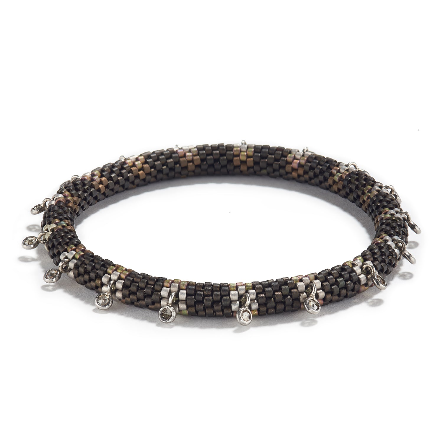 'Pools of Light' Bracelet with Diamonds