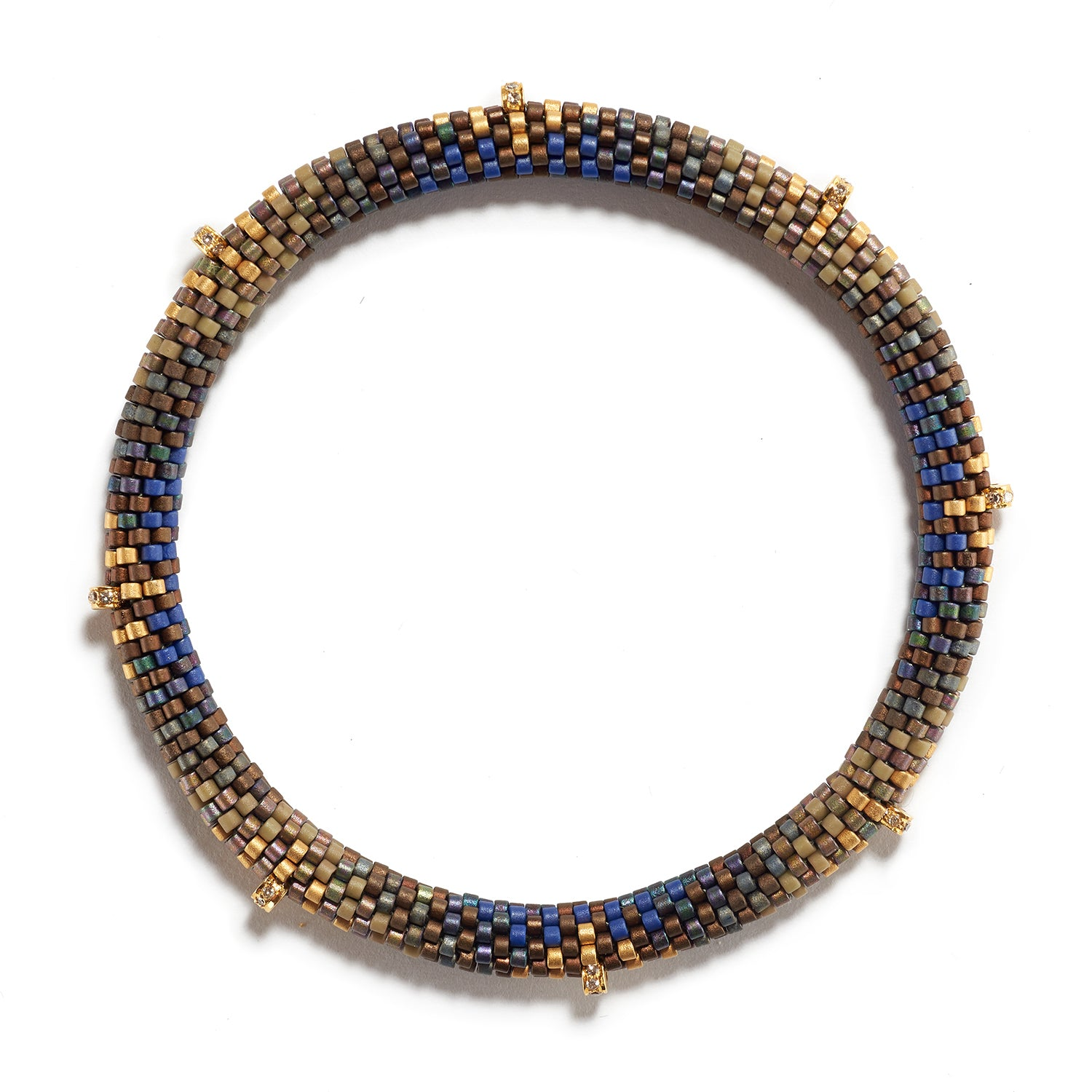 Pools of Gold Bracelet