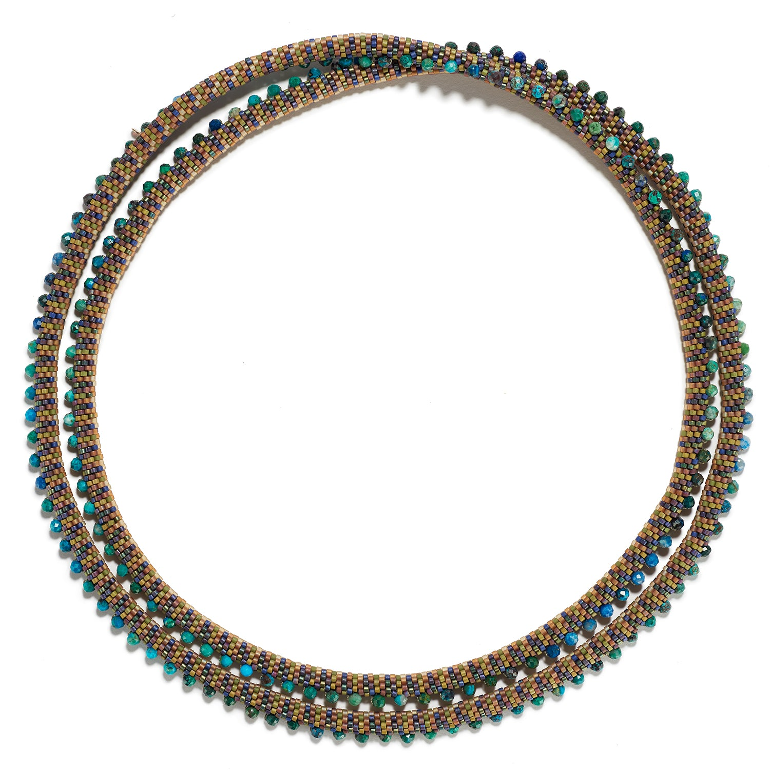 Chrysocolla Folon Necklace