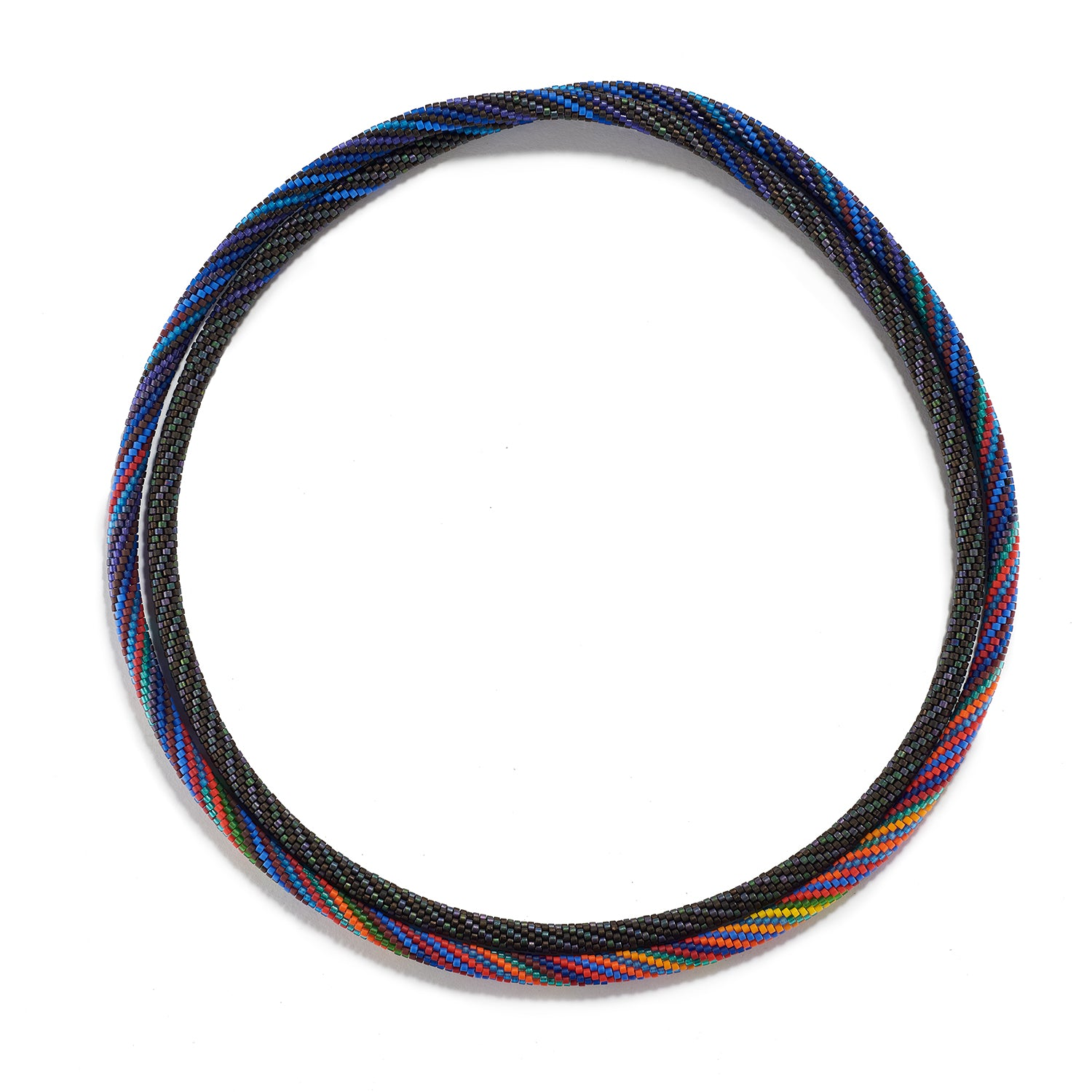 Prism Series II, Twist Necklace