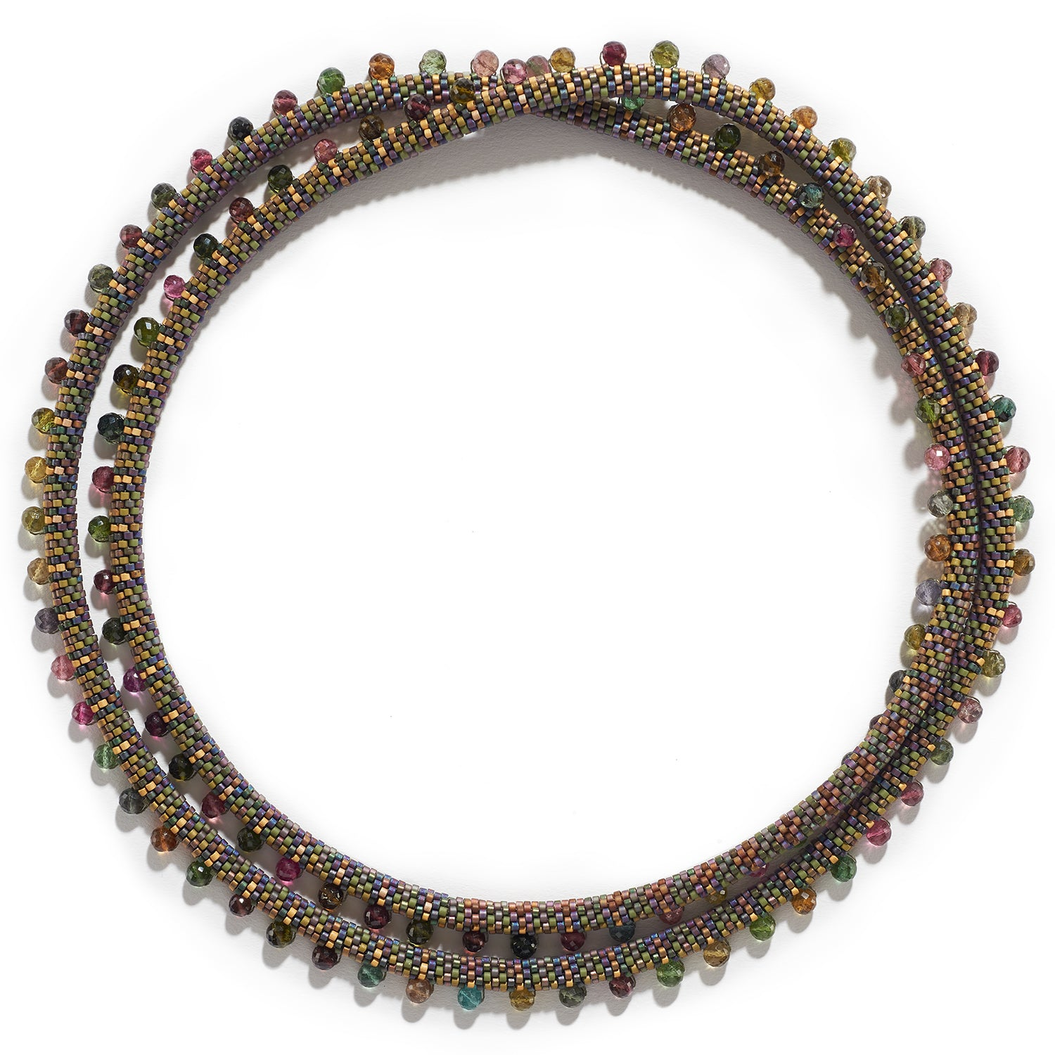Lyda Necklace with Multi-Colored Tourmaline