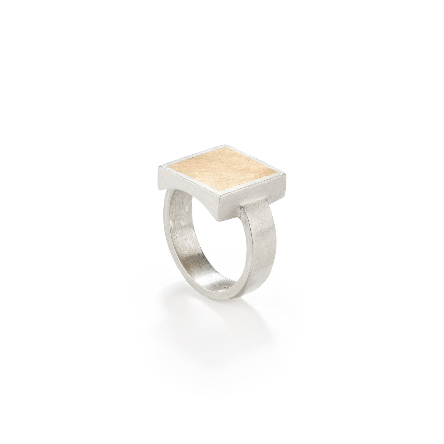 Modern Mixed Metal Ring