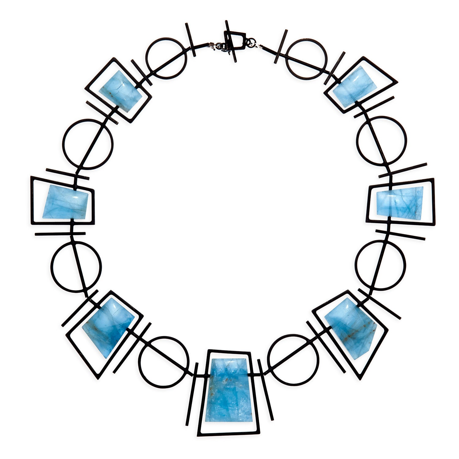 Frames & Circles Necklace