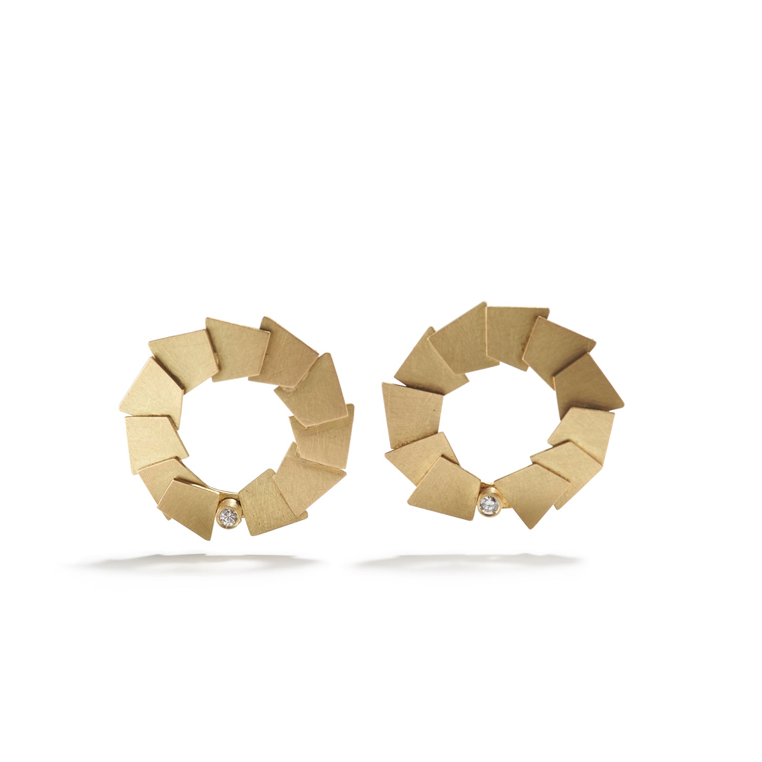 Layered Circular Earrings
