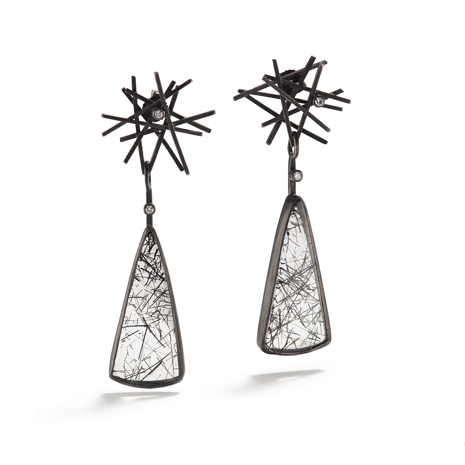 Flared Sketch Earrings