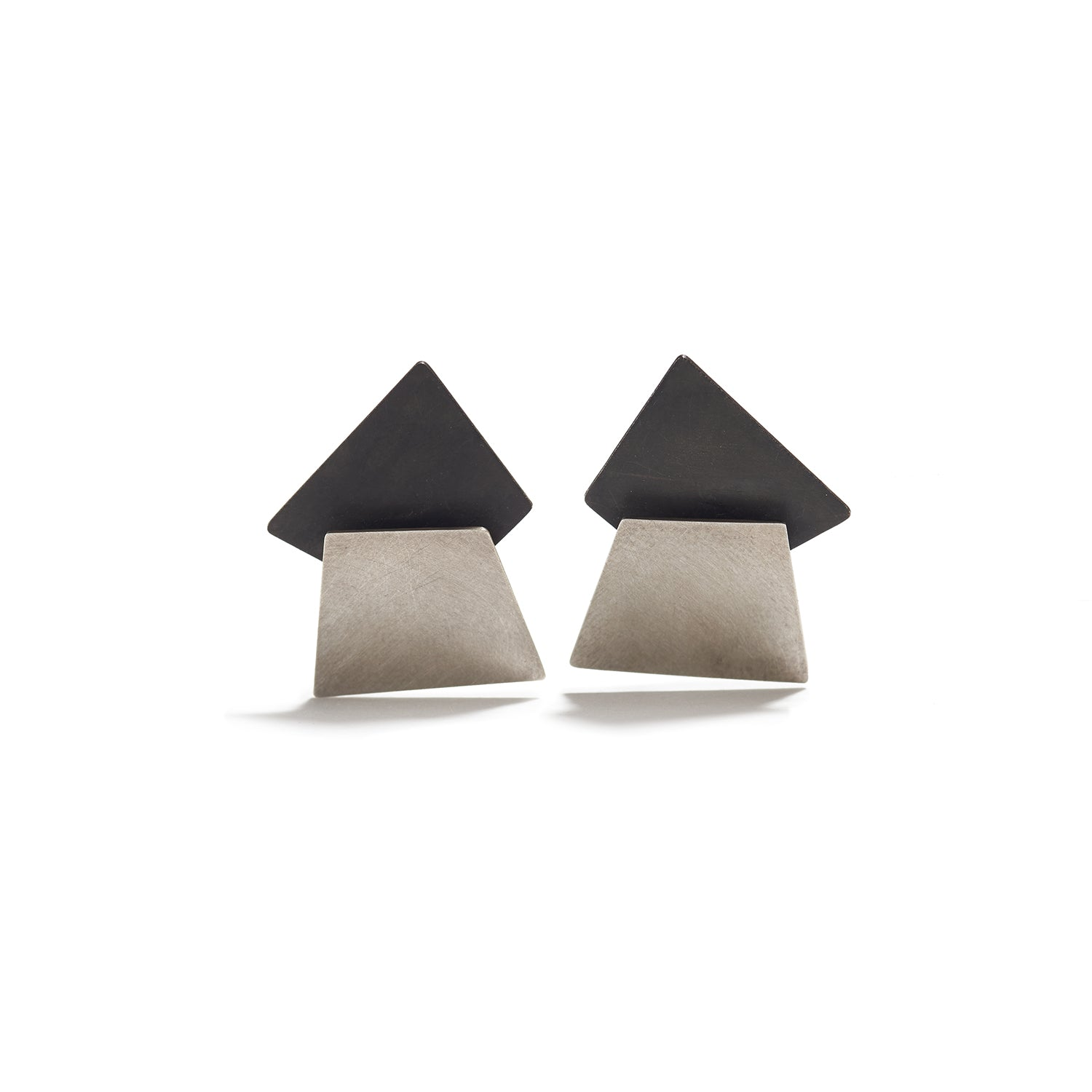 Geometric Overlap Earrings