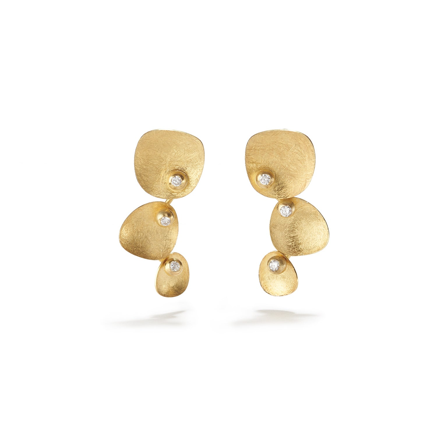 Gold Fiji Earrings