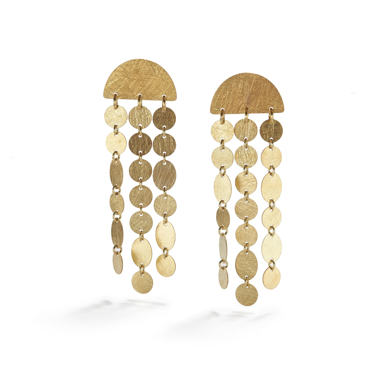 Gold Party Earrings