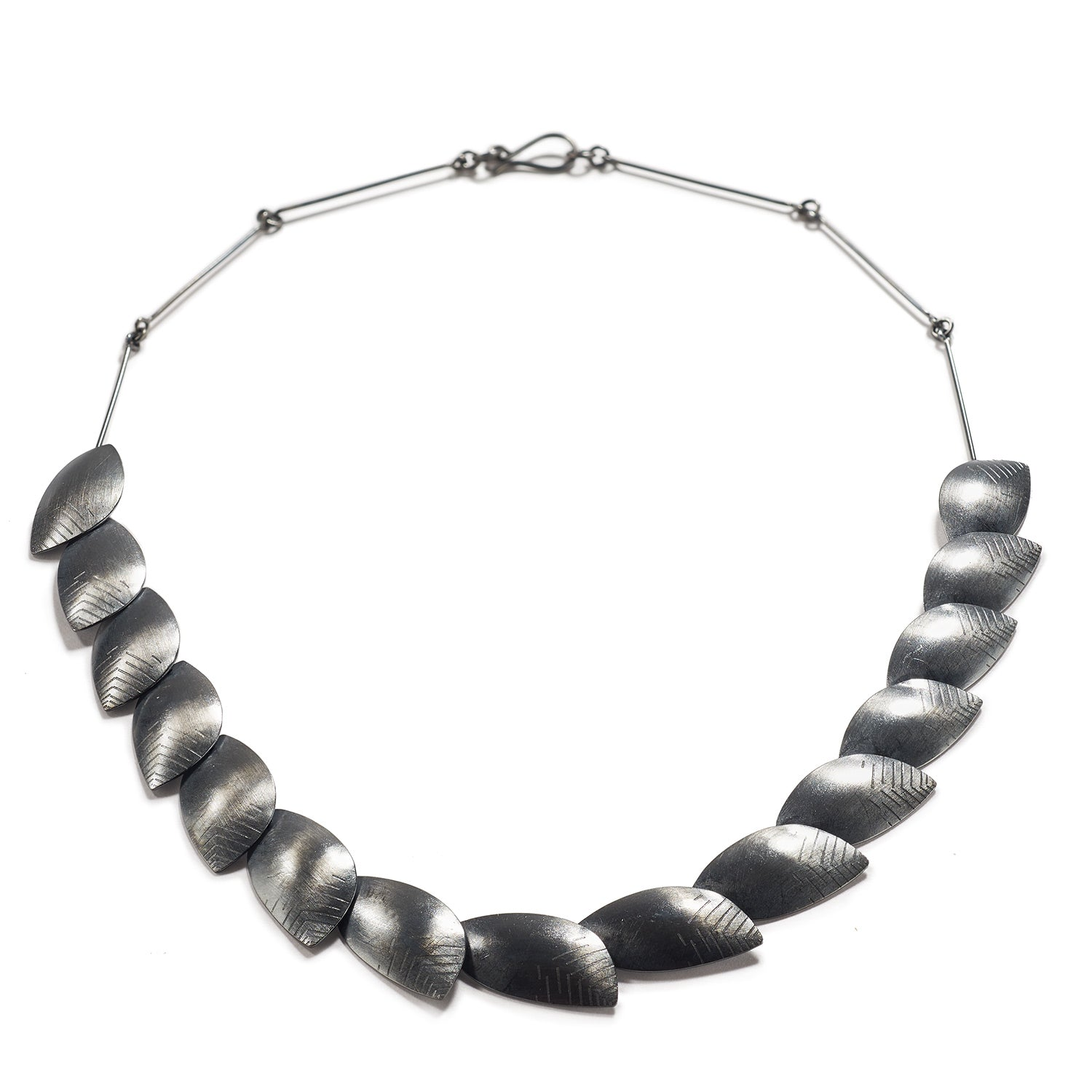Silver Roma Necklace