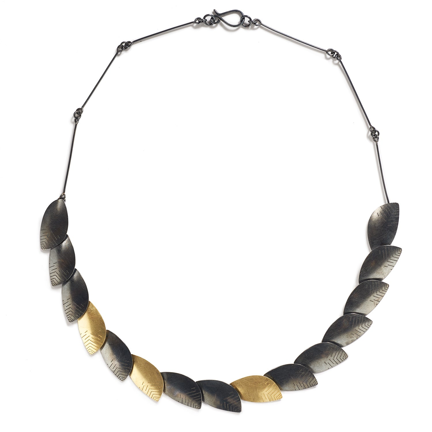 Silver & Gold Roma Necklace