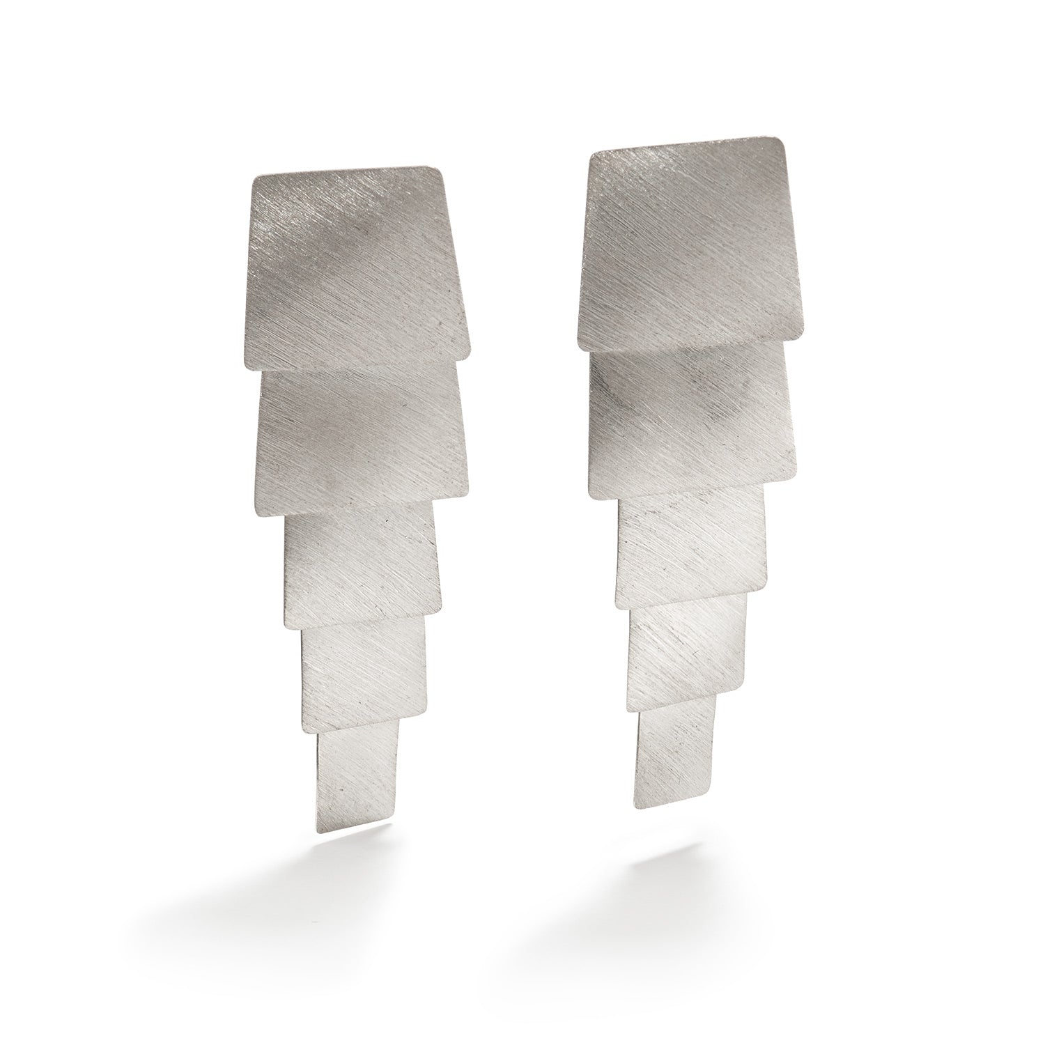 Aire Silver Earrings