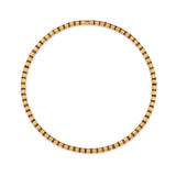 Cleopatra Gold Collier~5mm Citrine