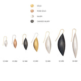 Cocoon Pendant Earrings~68mm Slim