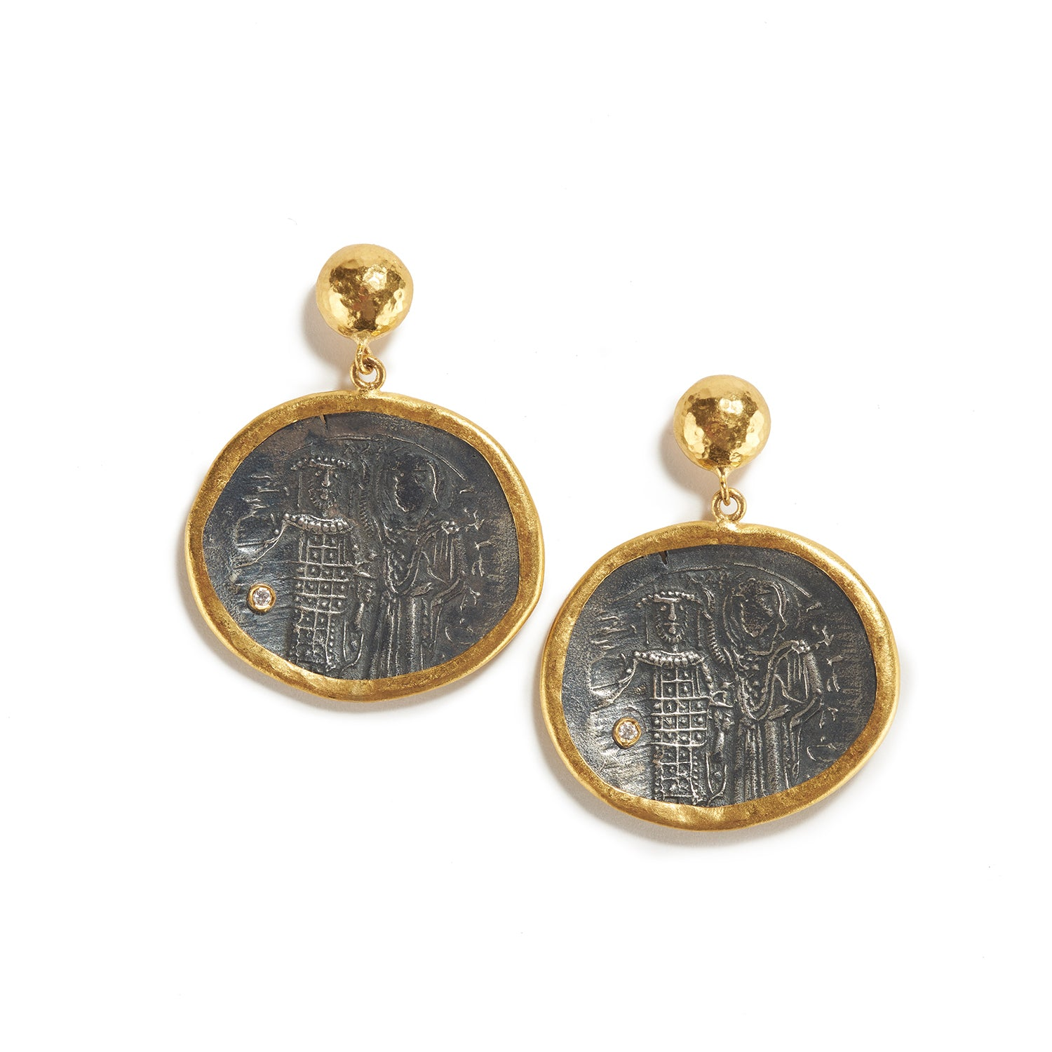 Byzantine King & Queen Earrings