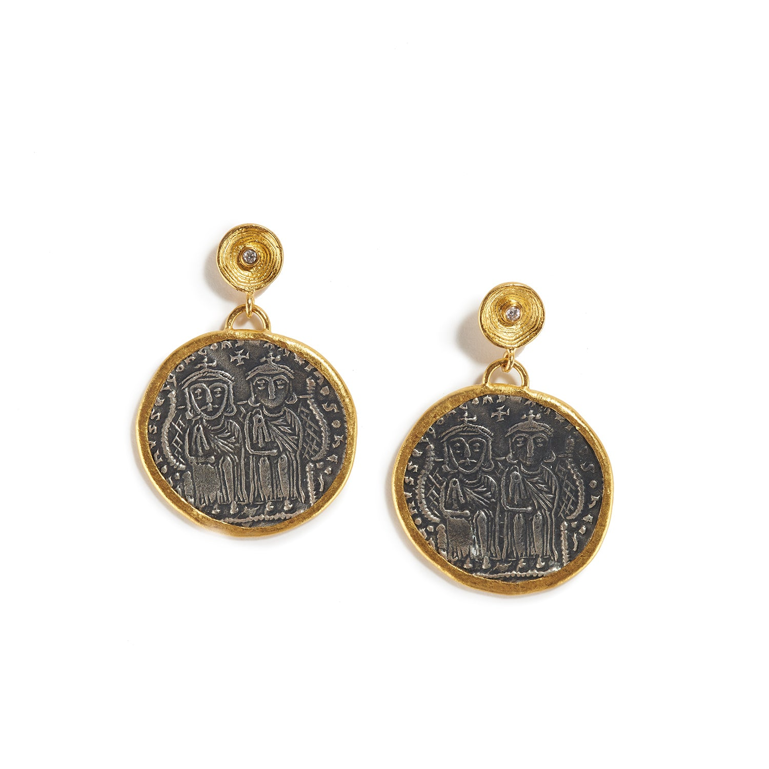 Byzantine Royalty Earrings