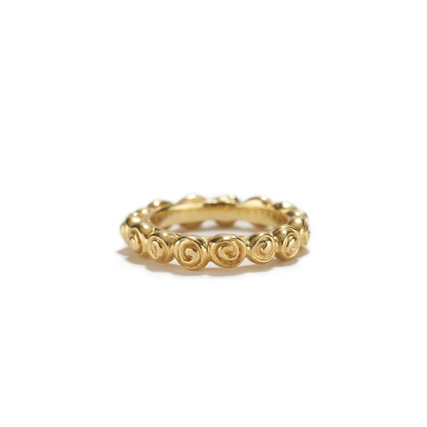 Single Roses Ring in Gold