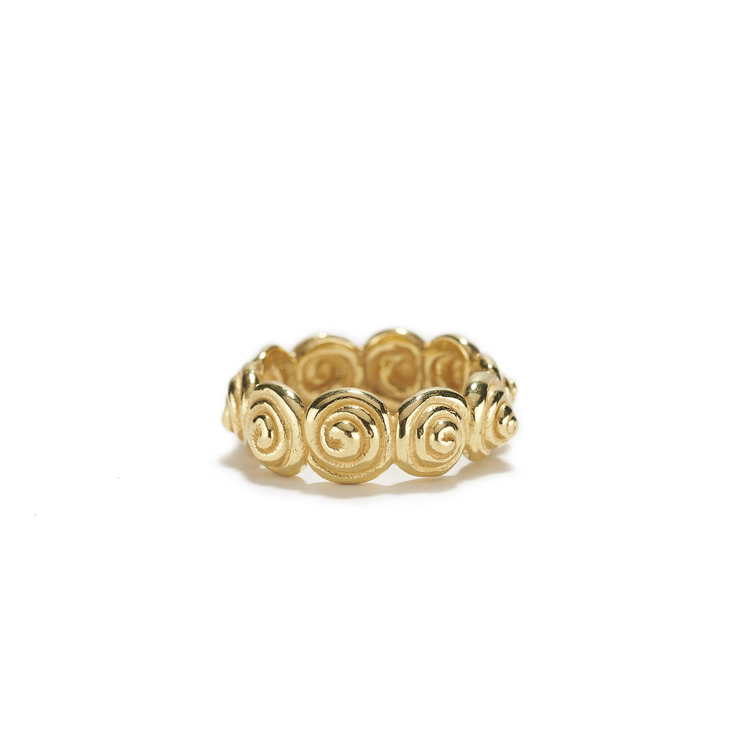 Snail Ring in Gold