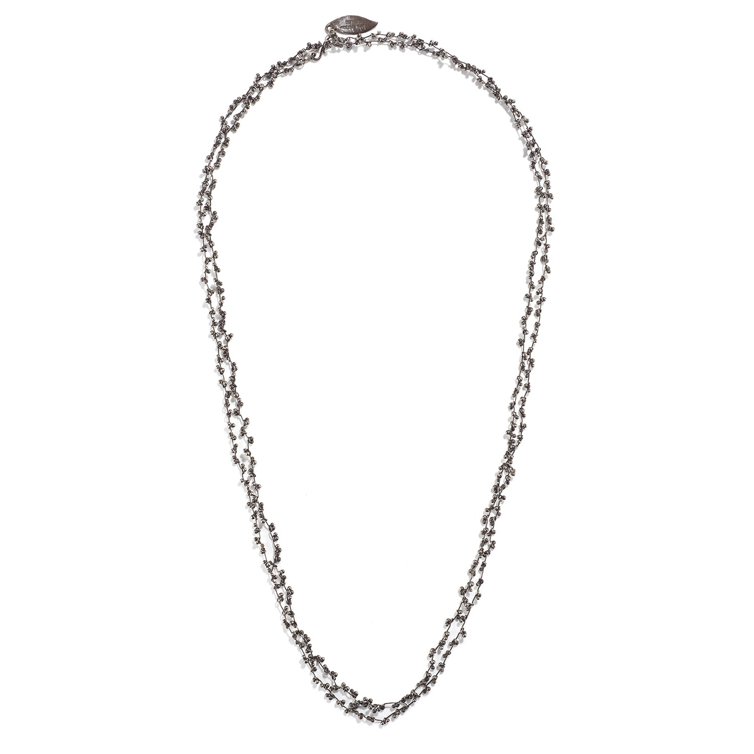 Sterling Silver Seed Necklace