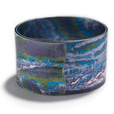 Spiral Bangle in New Blue/Purple
