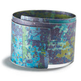 Spiral Bangle in Blue