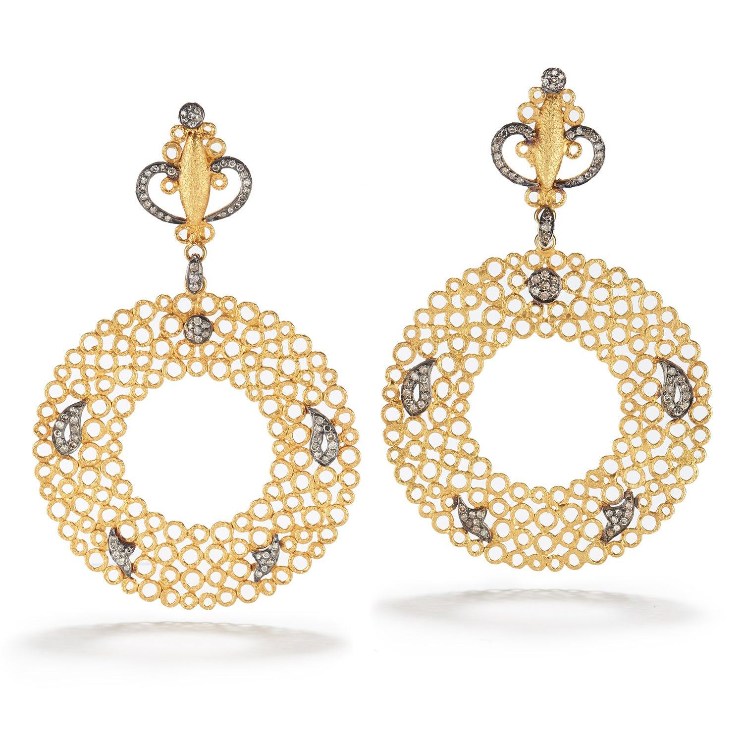 Circle Hawa Earrings