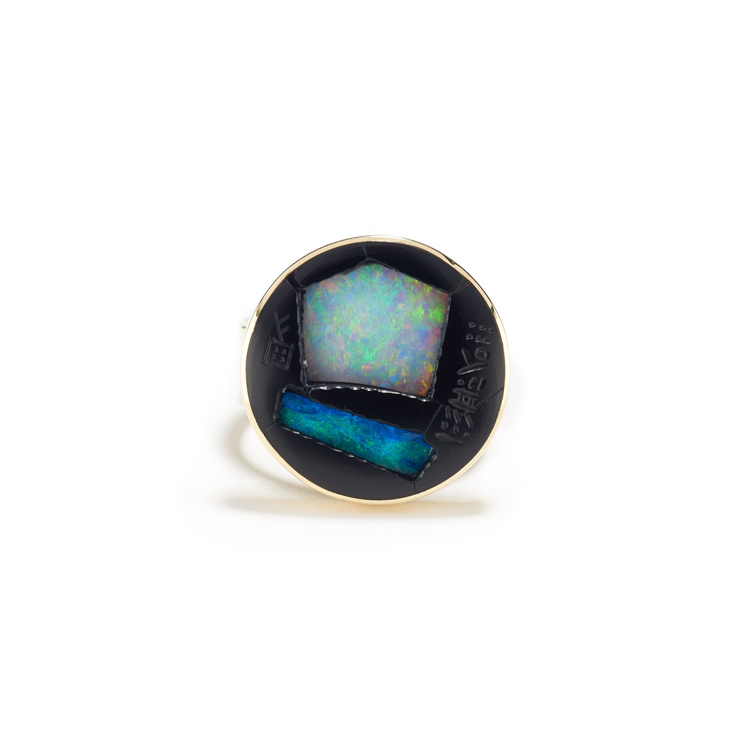 Opal Well Ring