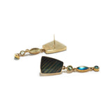 Earrings with Labradorite