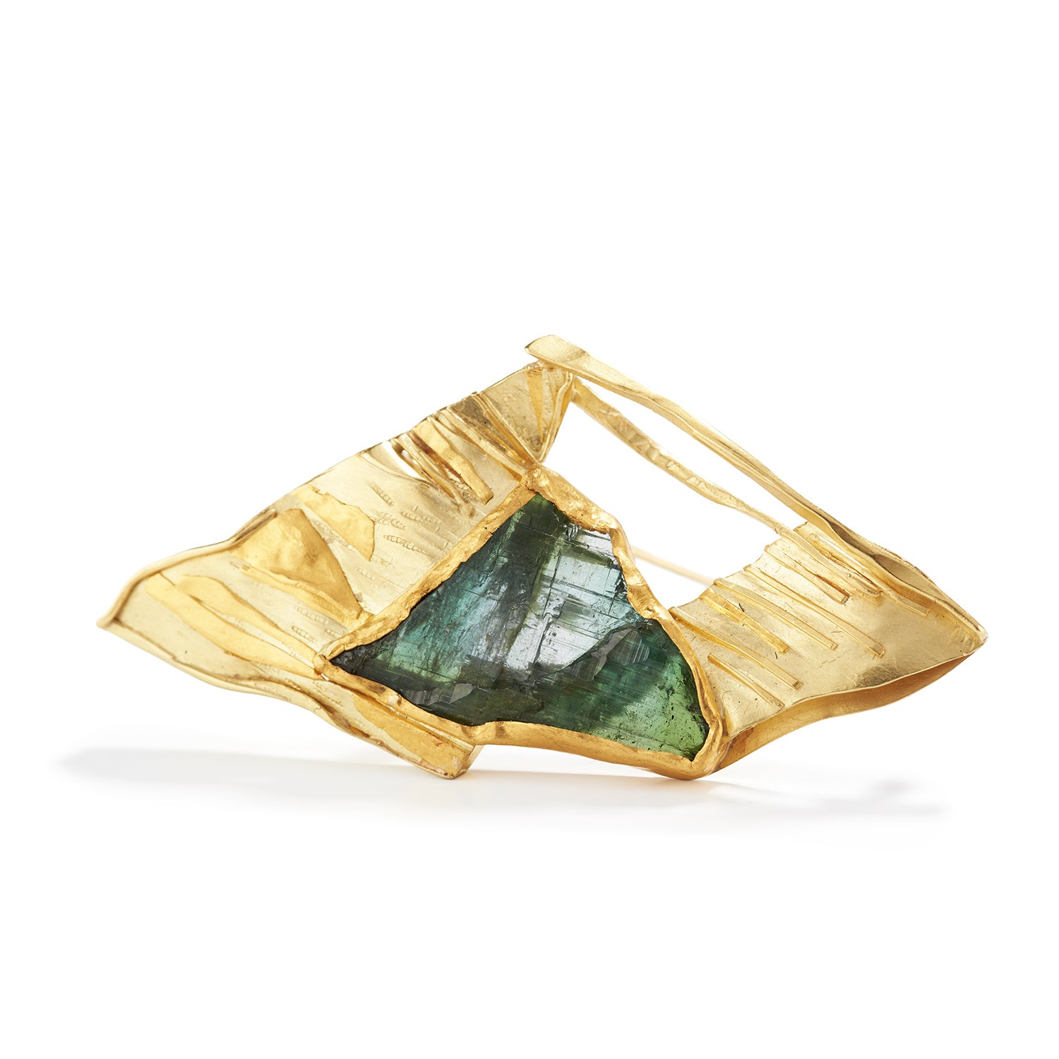 Tourmaline Brooch