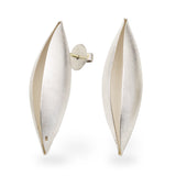 Cocoon Earrings With a Post~40mm
