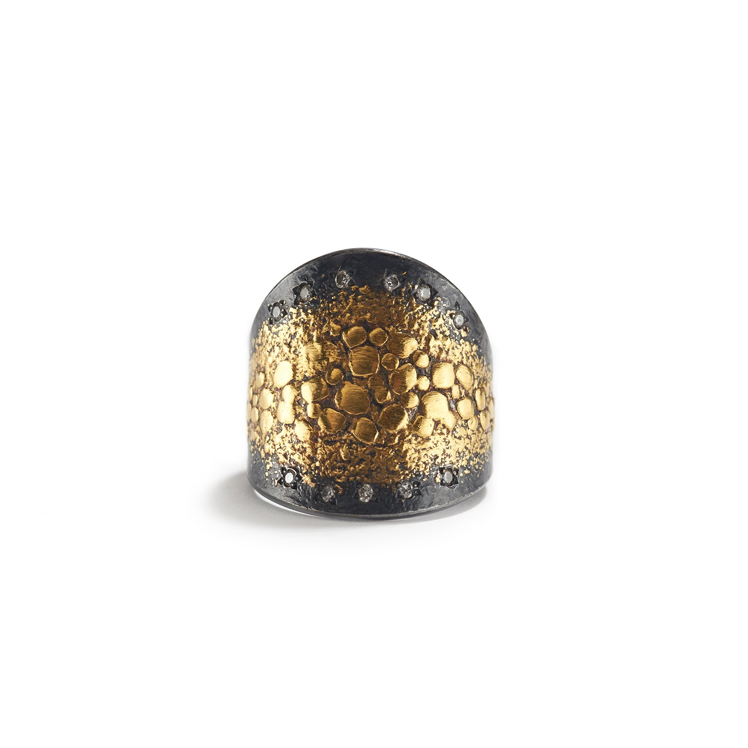Diamond & Gold Speckles Ring