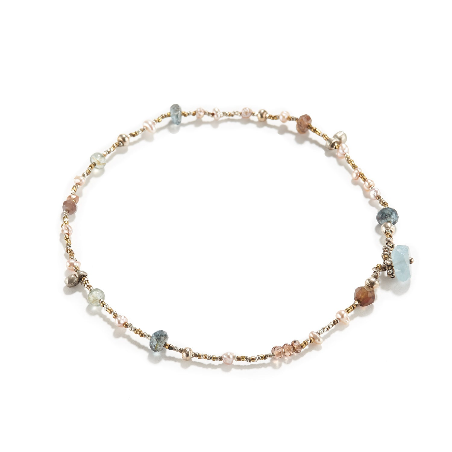Mixed Stone Anklet