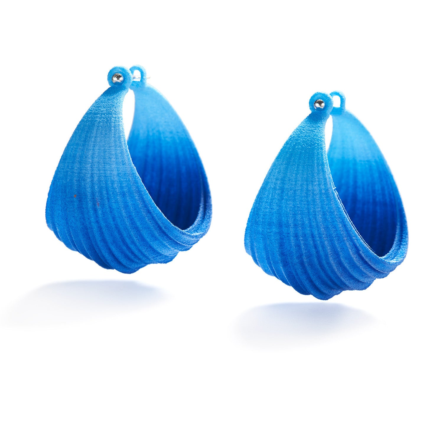 Pleated Hoops
