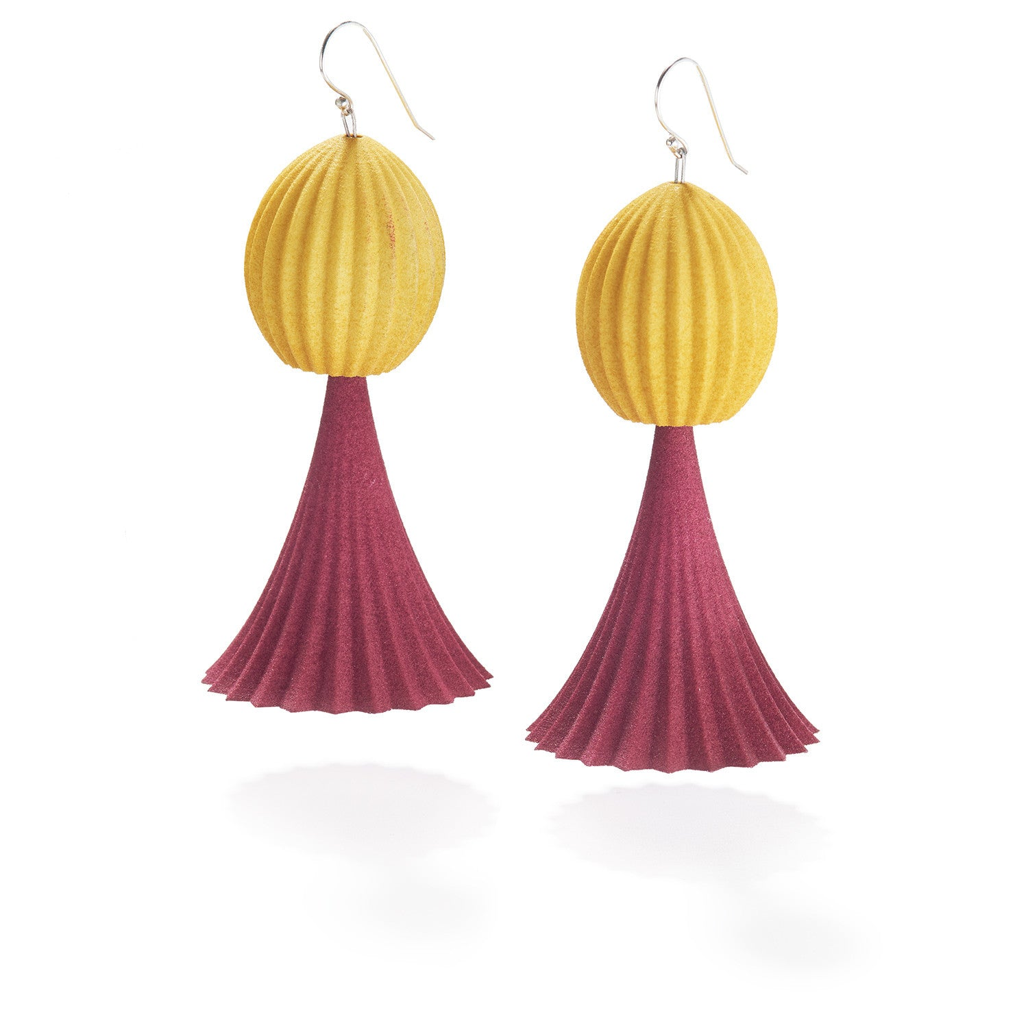 Trumpet Drop Earrings